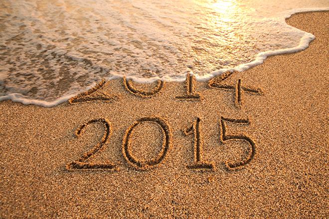 2014年→2015年
