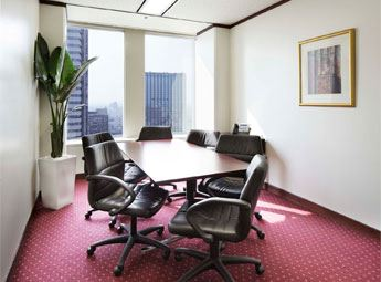 Shinjuku Nomura Building Meeting Room with Window View