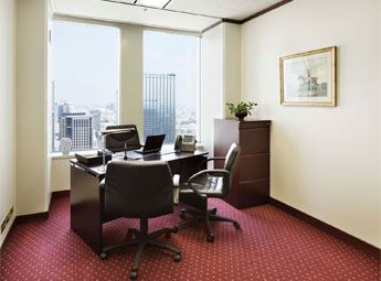 Shinjuku Nomura Building Office With Window View
