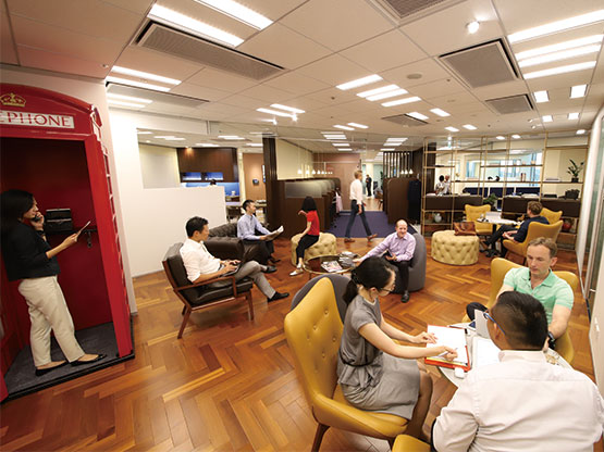 Tri-Seven Roppongi Coworking Space