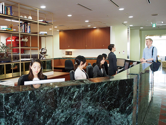 Shinagawa Intercity Tower Tower A Reception