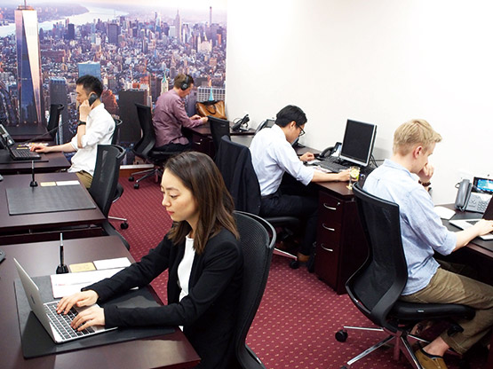 Shinagawa Intercity Tower Tower A dedicated desk