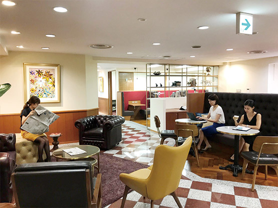 Nagoya Nikko Shoken Building Waiting Area