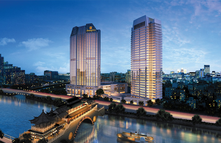Shangri La Office Tower Chengdu Feature 1