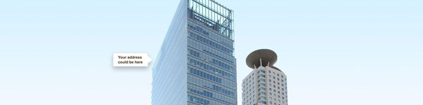 Your address could be at Umeda Hilton Plaza West Office Tower