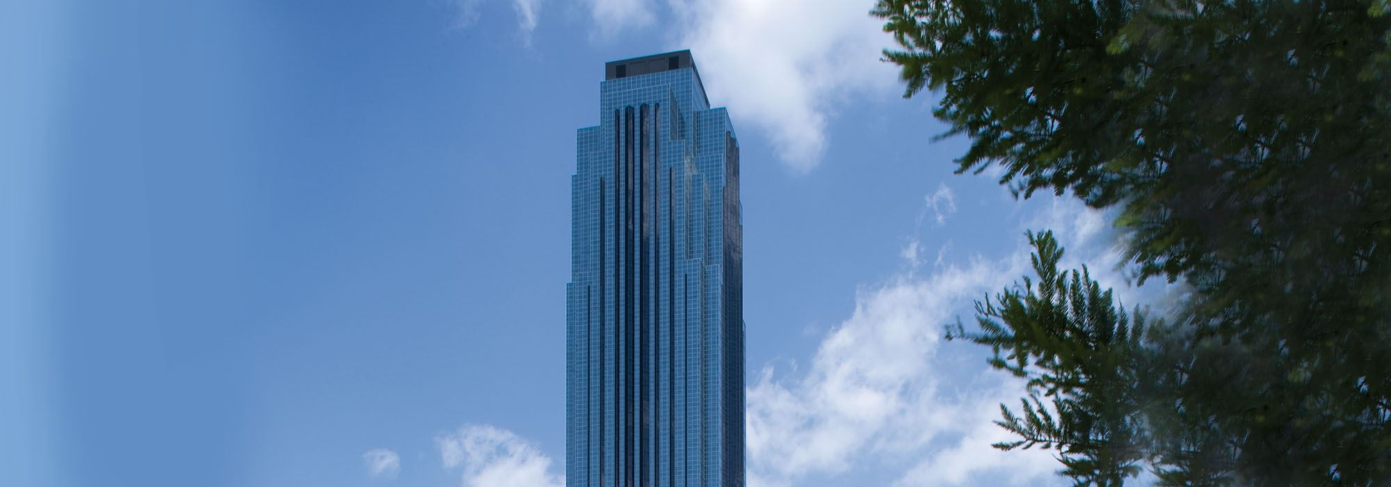 Williams Tower Houston Banner