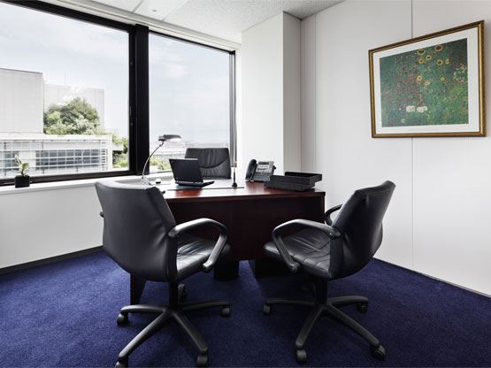 Tenjin Fukoku Seimei Building Office with View