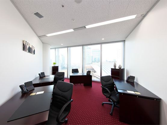 Umeda Hilton Plaza West Office Tower Office Suite with View