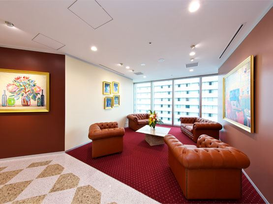 Umeda Hilton Plaza West Office Tower Waiting Area