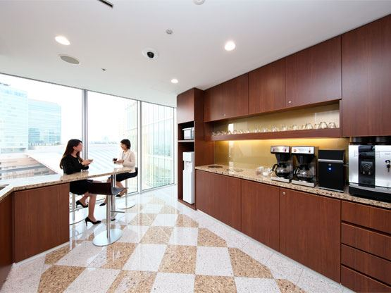 Umeda Hilton Plaza West Office Tower Kitchen
