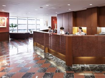 Umeda Hilton Plaza West Office Tower Reception