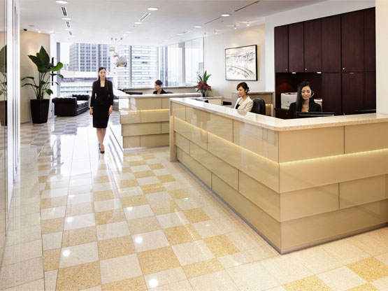 Marunouchi Trust Tower Reception