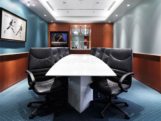 Ariake Frontier Building Board Room
