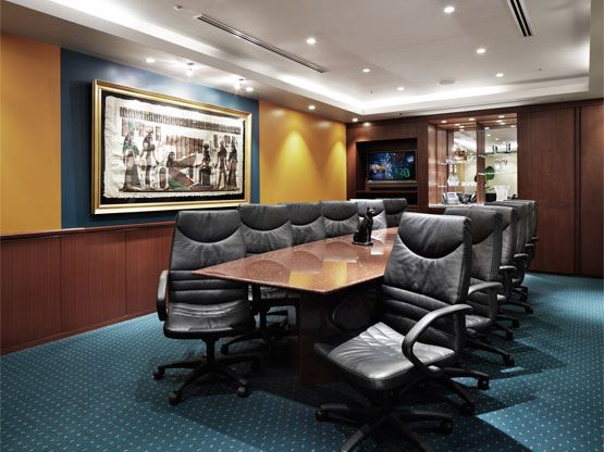 Shiroyama Trust Tower Board Room