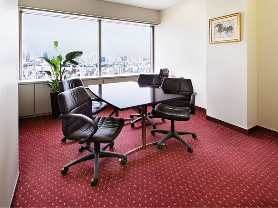Yebisu Garden Place Tower Meeting Room with View