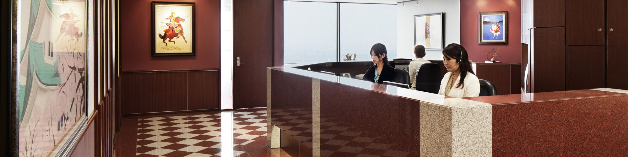 Nagoya Lucent Tower Reception